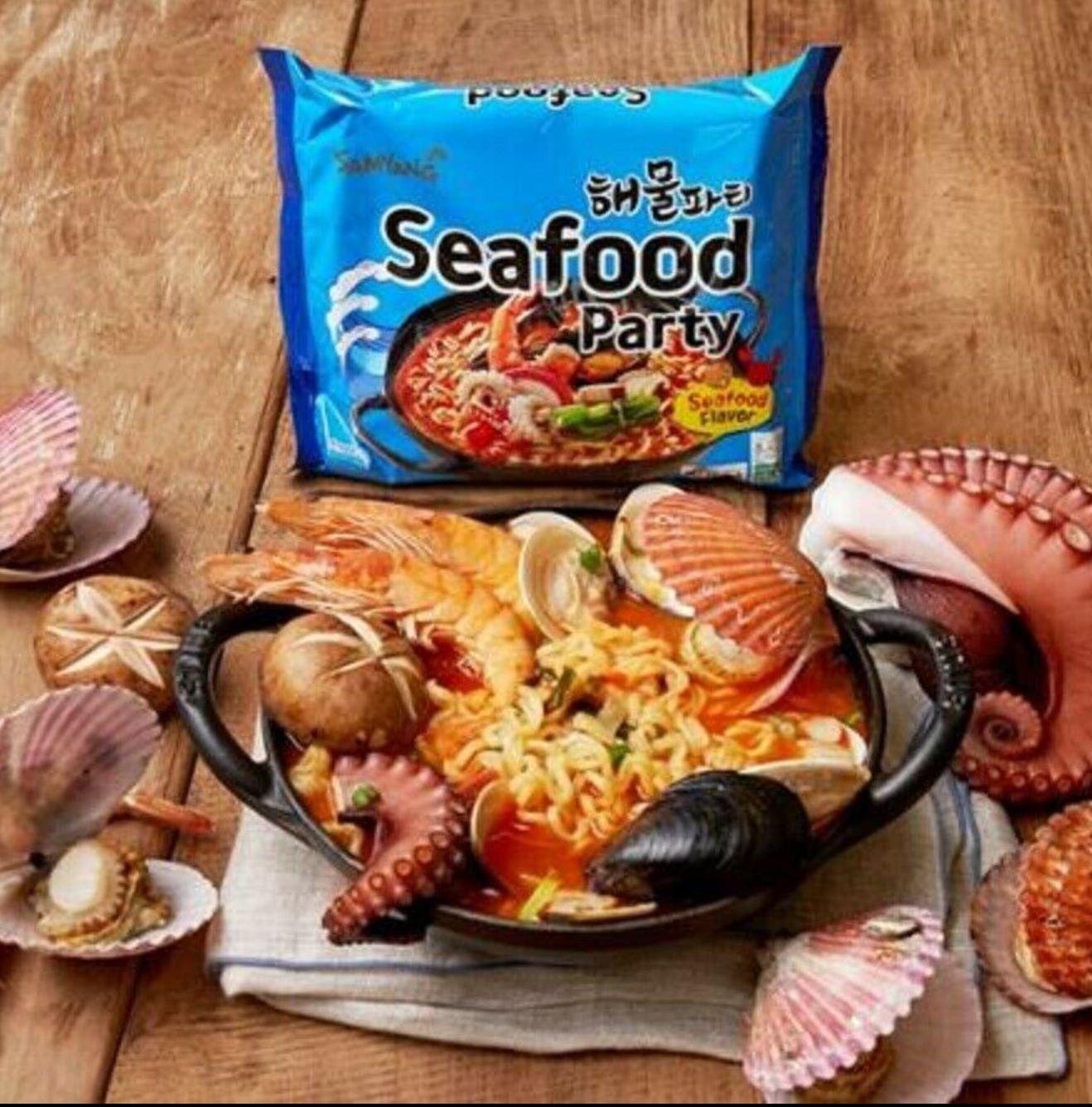 Ramen Samyang Seafood Party , 125g, (해물파티) :: KJ-market